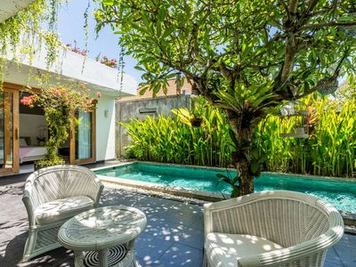 Photo for This gorgeous large 2 bed villa is in a superb location in the heart of Sanur