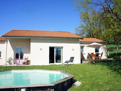 Photo for Holiday home with swimming pool - Massif Central
