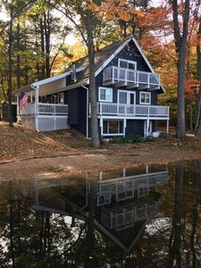 Photo for 3 bedroom 6 bed Home two story with basement, 3 decks on Privately Owned Lake.