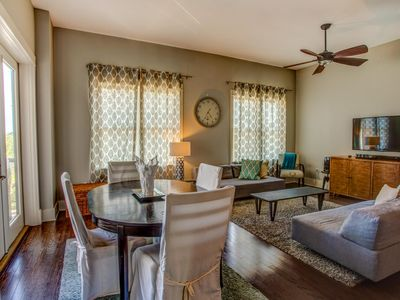 Photo for Beautiful condo in Redfish Village short walk to private beach.