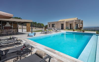 Photo for Zinos 3 -bedroom Luxury Villa with private pool and sea views