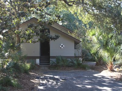 Photo for Charming cottage yards to beach and very central location
