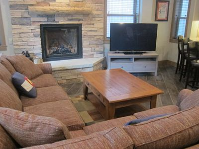 Photo for NEWLY REMODELED - Breckenridge 2BR - Ski-in/Ski-out with Heated Floors