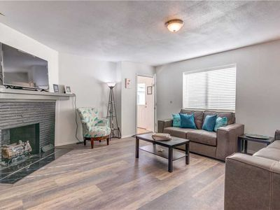 Photo for Steps from Beach and Prom, This Seaside Beauty Has Gorgeous Updates, Second Living Area!