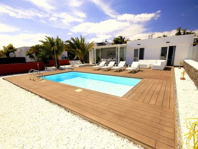 Photo for Villa Ajaches Maria with private pool and stunning views