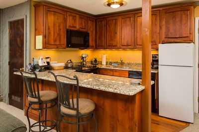 Storm Meadows I at Christie Base: Unit 350. Fully Equipped Kitchen
