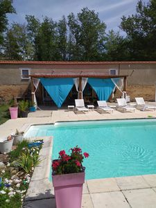 Photo for Guest house in forest with swimming pool