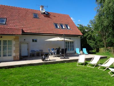 Photo for Holiday house with table football, large terrace and Wifi in beautiful surroundings