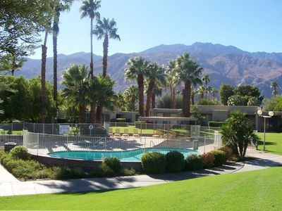 Photo for Cozy Bungalow in Palm Springs - Glorious Mountain Views!