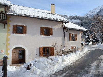 Photo for Les Voûtes - apartment sleeping up to 4 people in beautiful old chalet