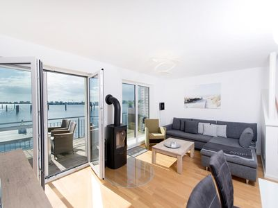 Photo for Modern feel-good holiday home in the immediate vicinity Baltic Sea and Schlei - with roof terrace and panoramic views of Schleimündung and Marina