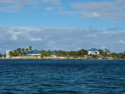 Photo for The High House of Tilloo Castle on the Sea of Abaco