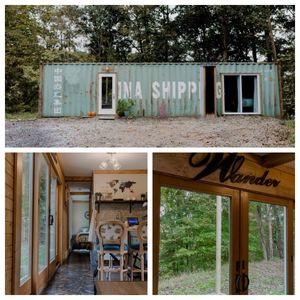 Photo for ~ Shipping Container Tiny House, Riverside Hideout