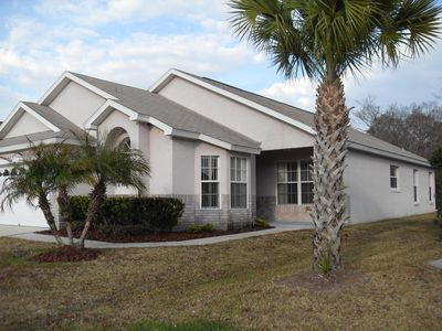 Photo for New 4BR/2BA Pool Home on Conservation Lot... Disney 15 Minutes