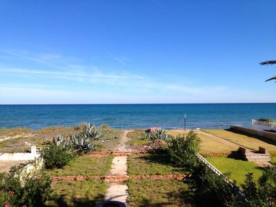 Photo for Chalet 20 meters from the sea.