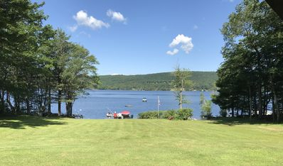 Photo for Beautiful Adirondack Home on Great Sacandaga  Lake with Private Lakefront