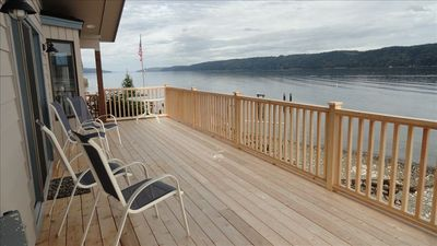 Photo for Waterfront Home with Gorgeous Views of Hood Canal