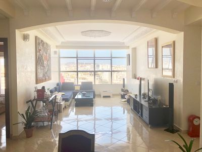 Photo for Central apartment the beach / panoramic view (beach)