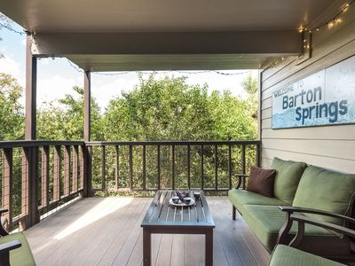 Private Covered Patio; 2 blks to Park, Springs, Trails, River; 20% off thru Jun!