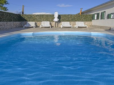 Photo for Rustic holiday home in small vilage near Primošten with outdoor pool