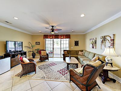 Photo for Luxury Beach Home w/ Private Pool & Golf Cart — Quick Drive to Myrtle Beach!