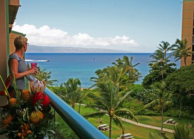 Picture yourself every morning enjoying this view from your private lanai.
