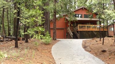 Photo for Karock Cabin - great mountain feel and walk to the state park!