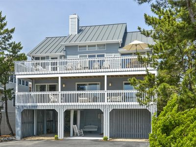 Photo for FREE ACTIVITIES INCLUDED DAILY!! 5 bedroom, 3 bath home with an ocean view located in one of the premier North Bethany private beach communities.