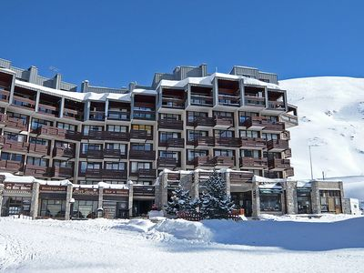 Photo for Apartment 398 m from the center of Tignes with Lift, Internet, Balcony (676605)