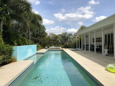 Photo for Mid-Century Modern W/Private Lap Pool In secluded Garden and art studio