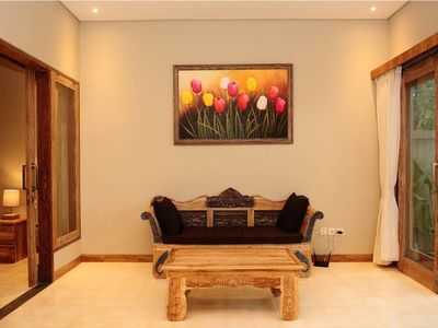 Photo for Stunning Chic 1BR Private Pool Villa, Valley View
