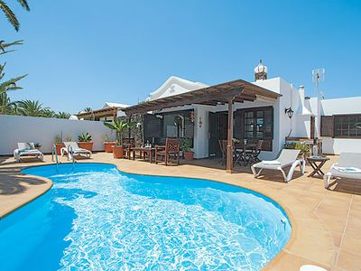 Photo for Centrally located family villa near to beach with pool and BBQ grill