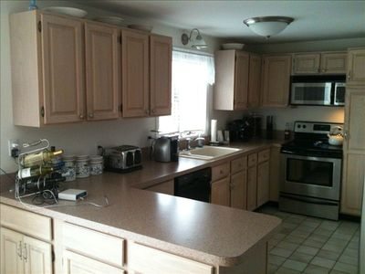 Kitchen wil all new appliances and counter