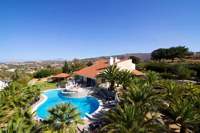 500 m² villa with its endless outdoor areas
