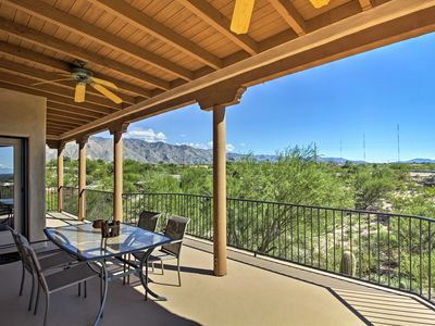 Photo for Updated Tucson Home w/Panoramic Mtn Views & Pool!