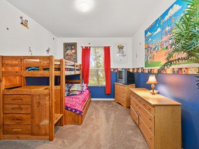 Photo for Magnolia Style Condo at Windsor Hills with Disney Theme Bunk Room