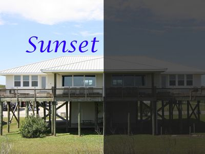 Photo for Sunset -  3 Bdr Beachfront w/ gorgeous sunrise!