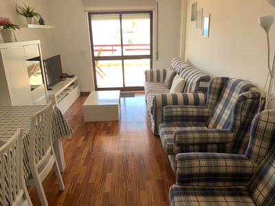 Photo for APARTMENT 2 BEDROOMS. POOL . TERRACE SEA VIEW GARAGE. 350 MTS FROM THE BEACH.