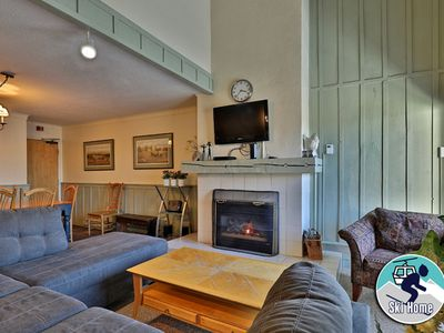 Photo for If location is important, this condo is for you w/ shuttle to Slopes/Ski home
