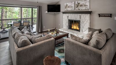 Photo for Modern, spacious mountain retreat w/hot tub in Upper Canyon