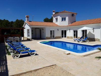 Photo for Villa 8 people with swimming pool (Costa Daurada)