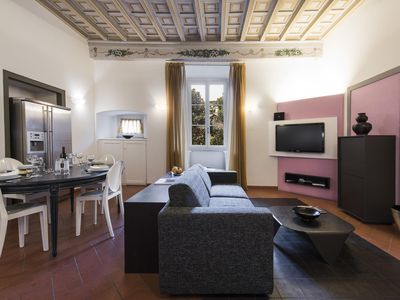 Photo for Terme Suite apartment in Duomo with WiFi, integrated air conditioning & lift.