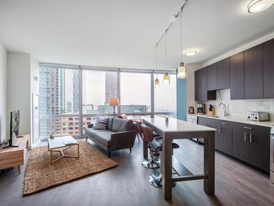 Photo for Comfy Streeterville 1BR w/ Pool + Lounge near Navy Pier by Blueground