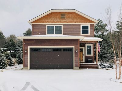 Photo for OWC: New Listing, Dog-Friendly, Fire Pit, In Lake Placid Village, Fireplace, Smart TVs, Game Room