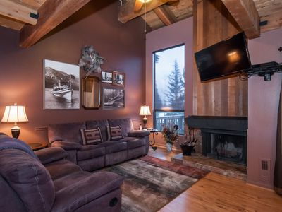Photo for Lake Tahoe - Townhouse Complex on the lake. Private beach, pier, tennis, pool,