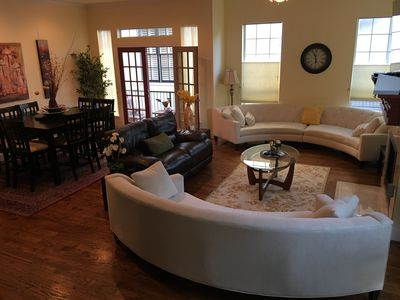 Photo for Superbowl- sleeps up to 8; Walk to Metro, 15 minutes to Stadium, Dntn, & shops