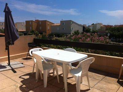 Photo for APARTMENT T2 CAB 45M2 50M OF THE BEACH IN RESIDENCE IN ROQUILLE Cap d'Agde