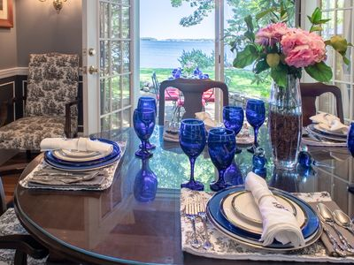 Photo for ON-the-ocean panorama. Elegant. Private. Historic. Endorsed. 20 years, 5-star.