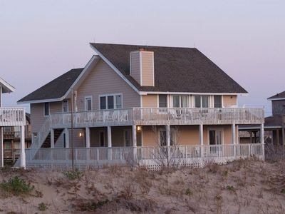 Photo for Avon Oceanfront 6 bed, 4 bath w/ private pool & hot tub