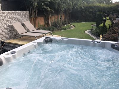 Photo for Outdoor shower, hot tub, pleasure pit(additional cost), sound system